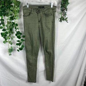 4/$25 Flying Monkey Platinum olive skinny jean